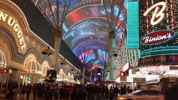Espetáculos de rua em Las Vegas