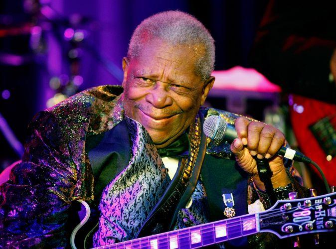 BB King :uma lenda viva do blues em Las Vegas