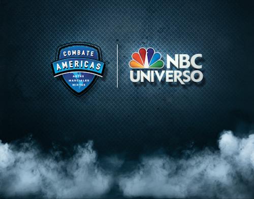 COMBATES AMÉRICAS & NBC UNIVERSO <br />Nova series de Lutas de MMA Caminho para o Campeonato entre Latinos