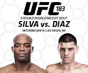 Comprar Ingressos UFC 183 Anderson Silva X Nick Diaz