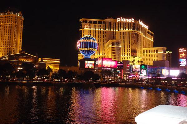 Viagem a las Vegas em família