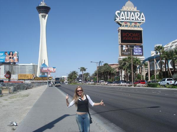 Passeio de carro de luxo em Las Vegas