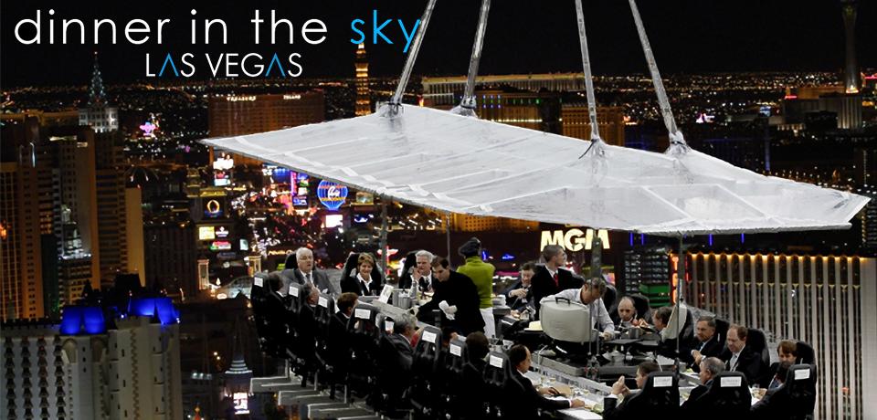 Dinner in the Sky em Las Vegas