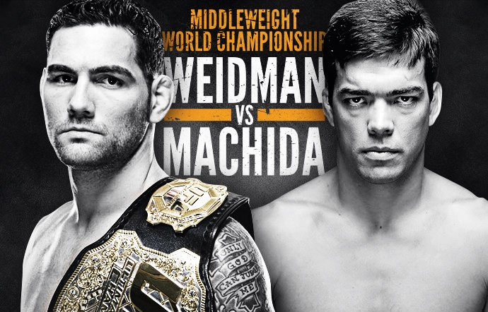 Ingressos UFC 175 Chris Weidman e Lyoto Machida