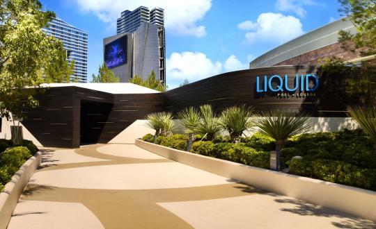 LIQUID POOL ARIA HOTEL LAS VEGAS