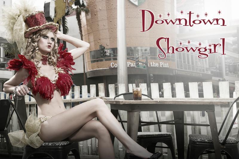 Las Vegas show girl