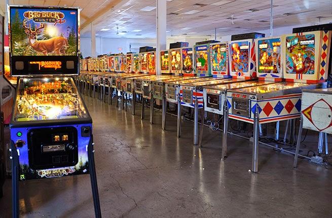Museu do Pinball em Las Vegas