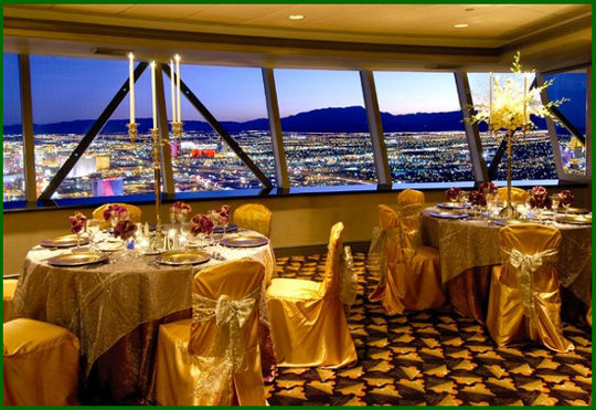 Stratosphere restaurant - Romance at Top of the World
