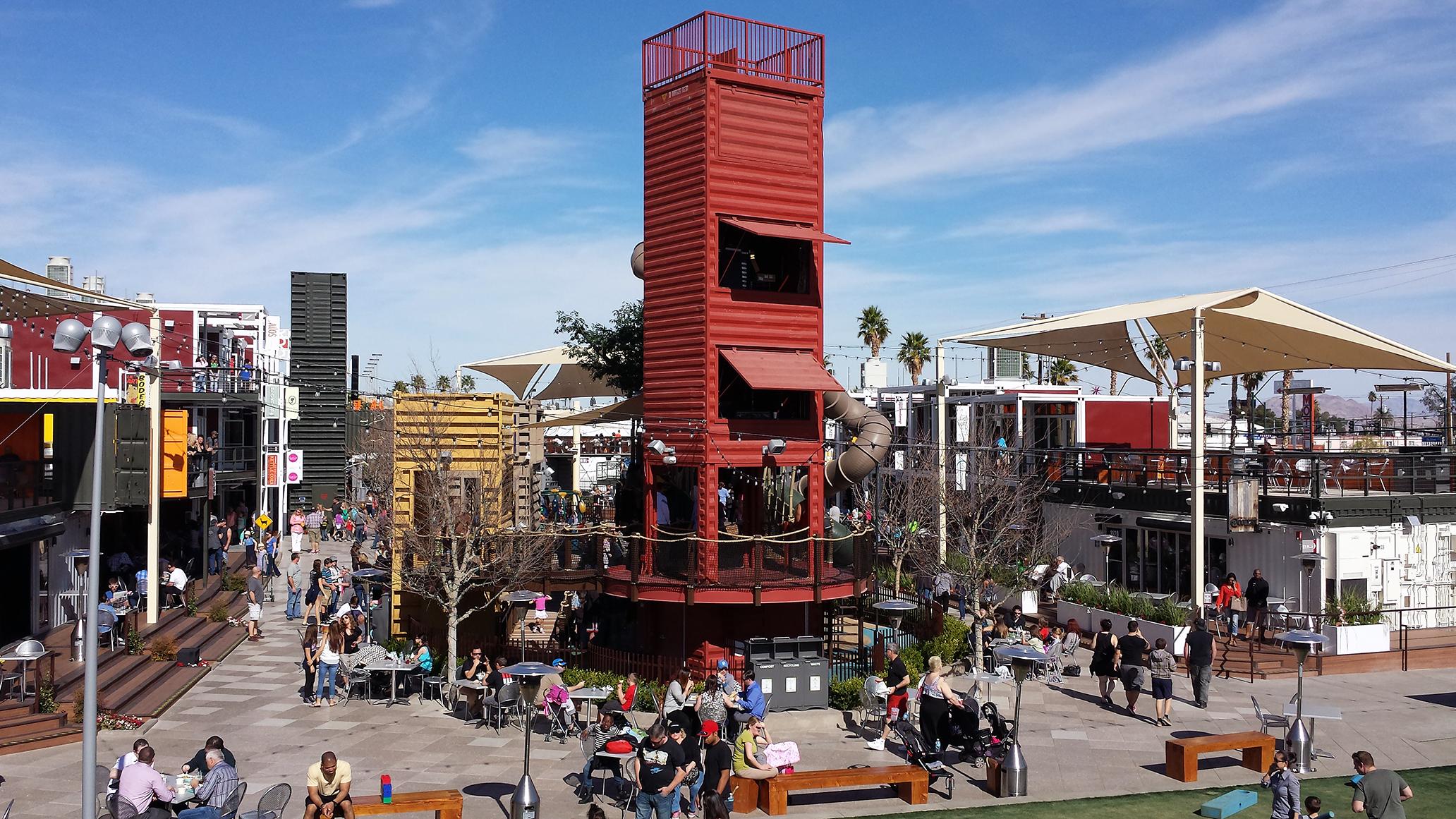Downton Container pak em Las Vegas