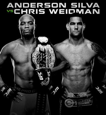 Anderson Silva x Chris Weidman