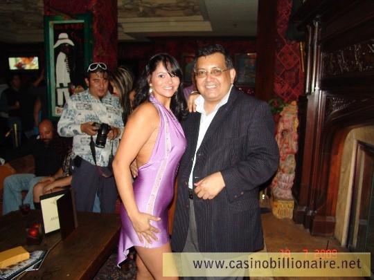 Festa De Anivers 225 Rio De Mario Guardado Casino Billionaire
