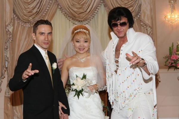 Casamento Las Vegas temático do Elvis na Capela