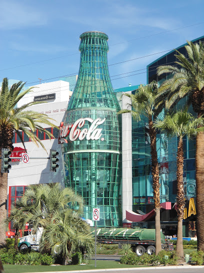 Loja da coca Cola em Las Vegas