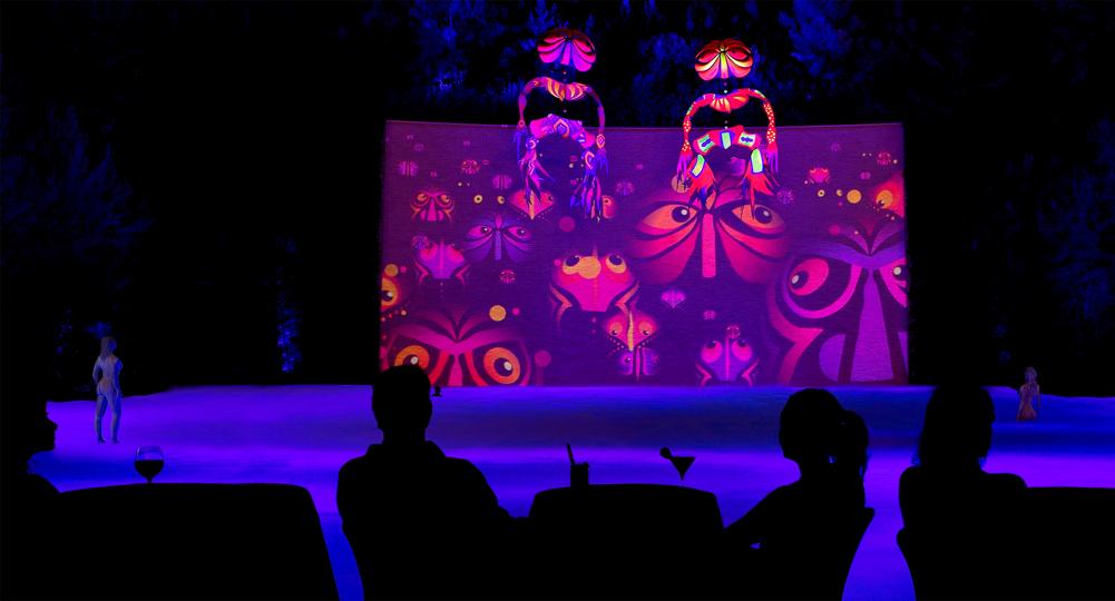 Espetáculo Lake of Dreams no Wynn Las Vegas