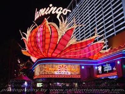 Hotel flamingo em Las Vegas