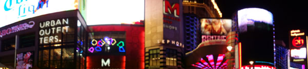 Fotos panorâmicas de Las Vegas