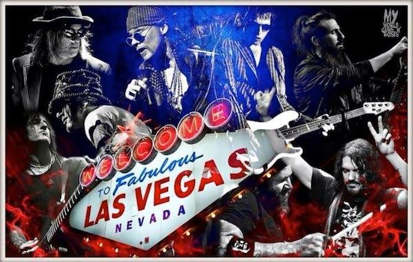 Guns N Roses curtindo Las Vegas
