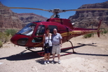 Passeio de helicoptero no Grand Canyon