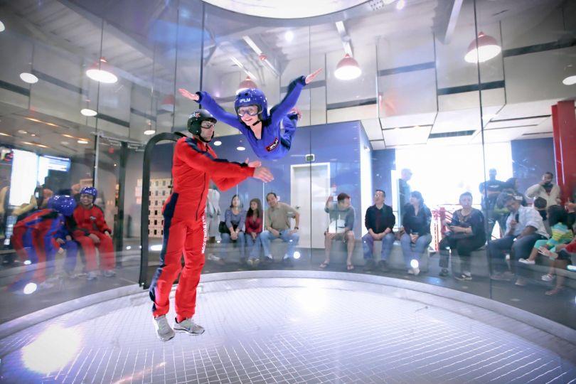 Indoor Skydiving: muita adrenalina em Las Vegas