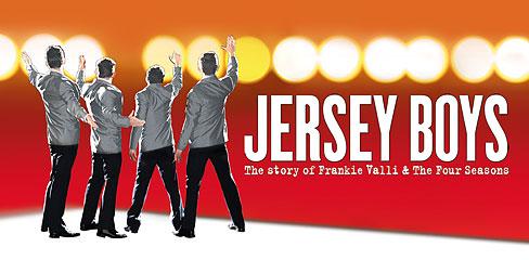 Ingressos para show Jersey Boys