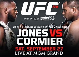 Ingressos UFC 178 Jon Jones X Daniel Cormier