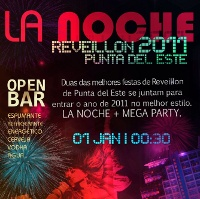 Festa de Reveillon em Punta del Este 2011