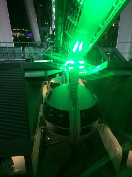 Roda gigante em Las Vegas - LINQ