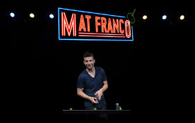 Mat Franco espetáculo