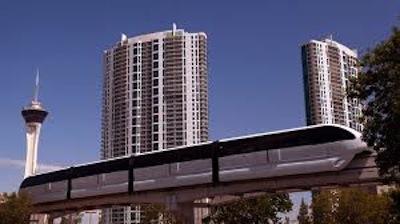 Monorail:opção de transporte em Las Vegas