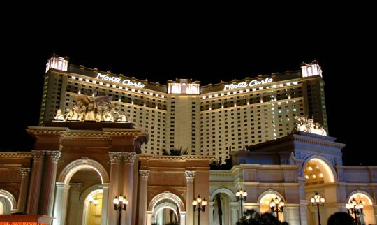 Monte Carlo Resort And Casino Las Vegas