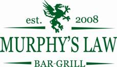 Murphys Law Bar & Grill offers daily specials and events