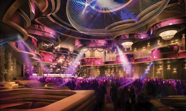 Omnia - nova casa noturna no Caesars Palace Las Vegas