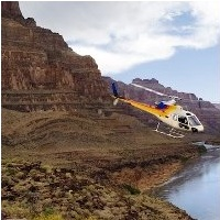 Passeio de helic�ptero no Grand Canyon