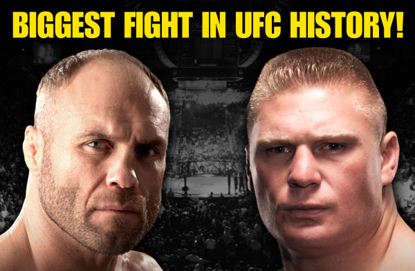 Ultimate Fighting Championship - UFC 91 - Randy Couture VS Brock Lesnar