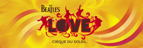 Show The Beatles LOVE do Cirque du Soleil no The Mirage Las Vegas