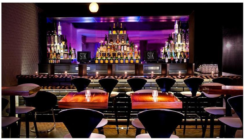 bar e restaurante STK no Cosmopolitan Las Vegas