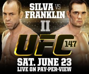 UFC 147 Rich Franklin X Wanderlei Silva