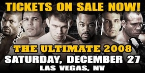 UFC 92 - Ultimate Fighting Championship 92 -  THE ULTIMATE 2008