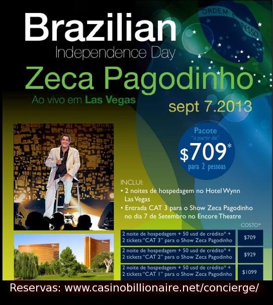 Show do Zeca Pagodinho em Las Vegas - 7/Set