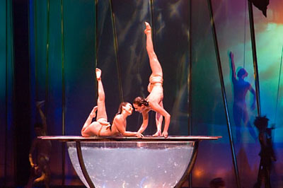 Zumanity - another side of Cirque du Soleil