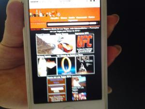 Guia de Las Vegas no celular